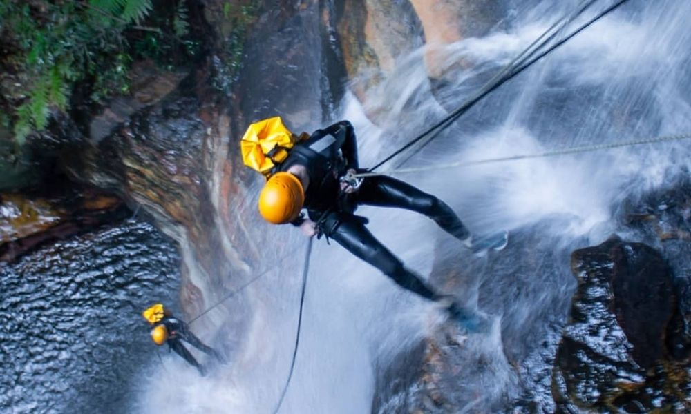 Winter Canyoning Blue Mountains