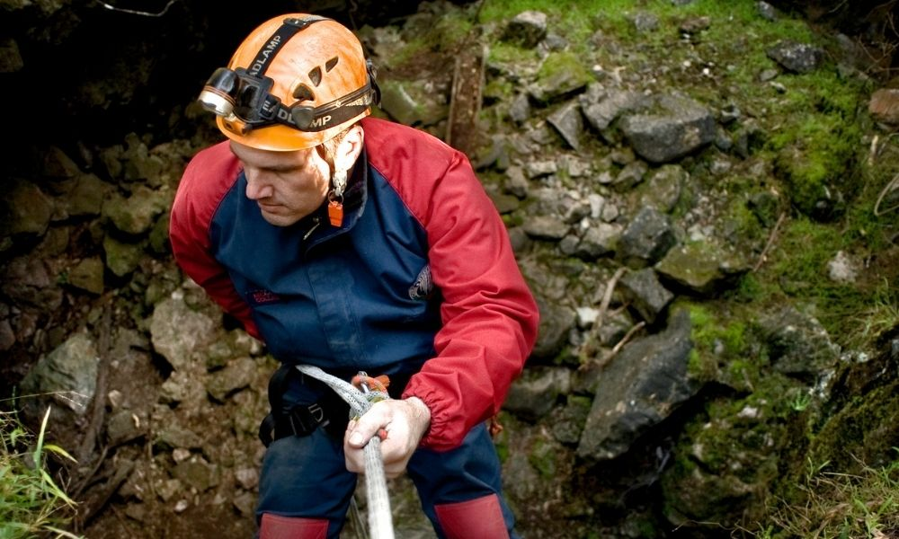 Plughole Introductory Adventure Caving Experience