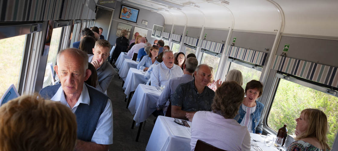 The Q Train - Q Class Lunch Departing Drysdale