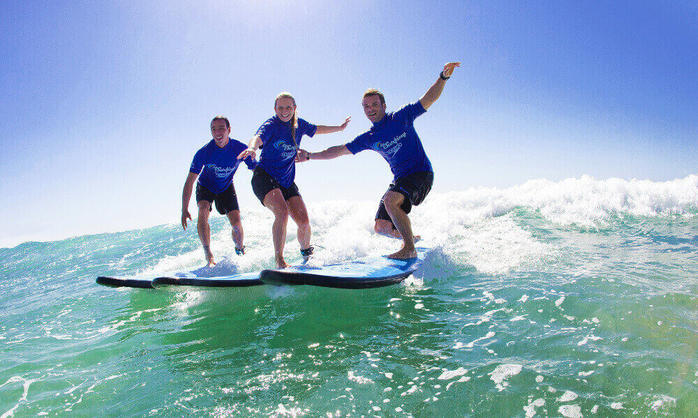 120 Minute Group Surf Lesson in Byron Bay