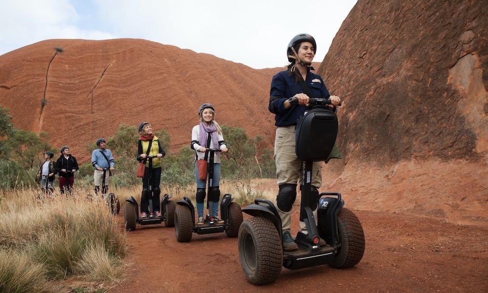 Quarter Uluru Segway and Sunset Tour
