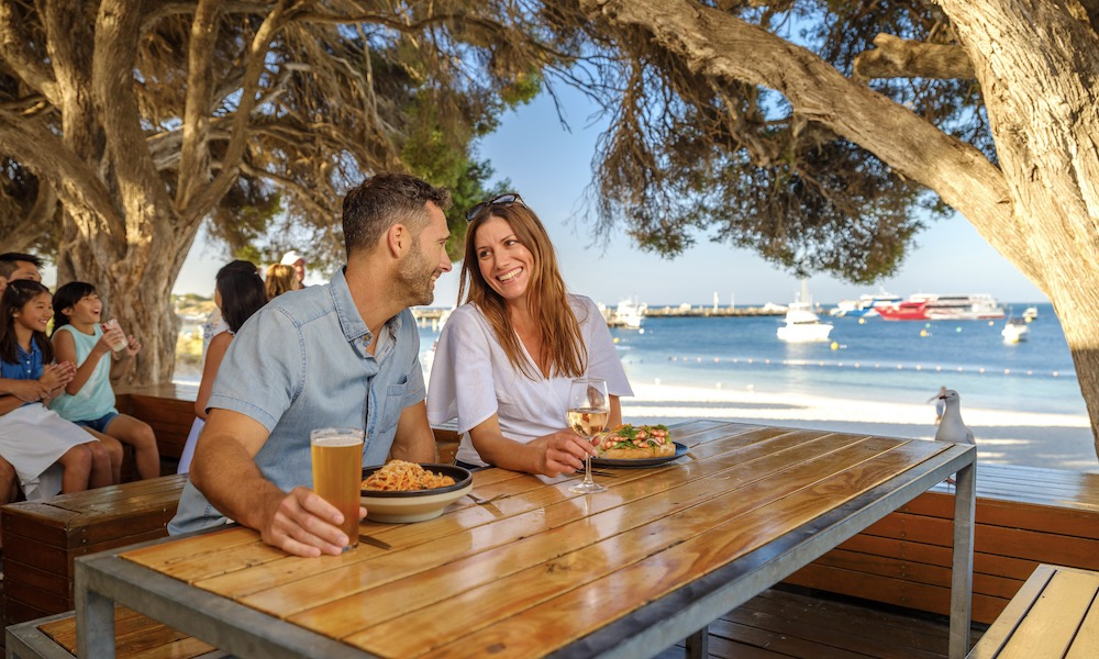 Rottnest Island Day Tour including Bike and Snorkel Hire from Fremantle