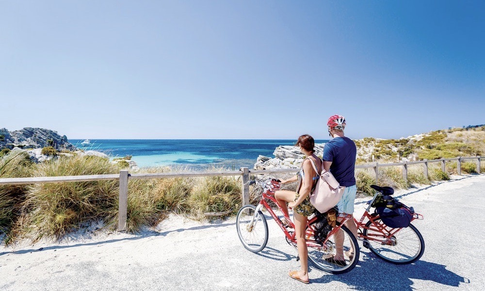Rottnest Island Day Tour including Bike and Snorkel Hire from Perth