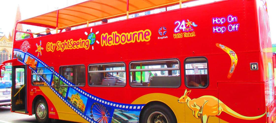 Melbourne Hop on Hop off Tour & Eureka Skydeck