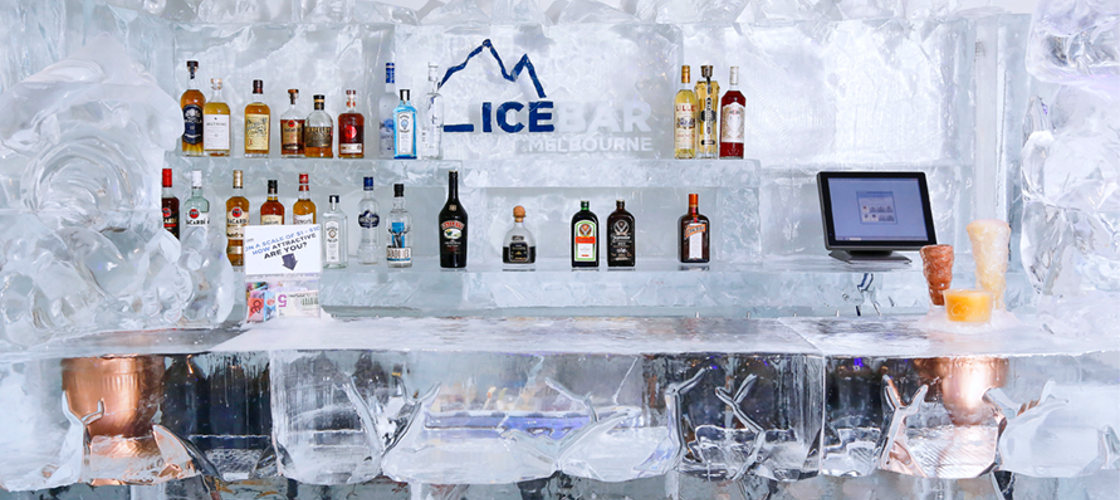 IceBar Non-Alcoholic Entry with Mocktail and Photo