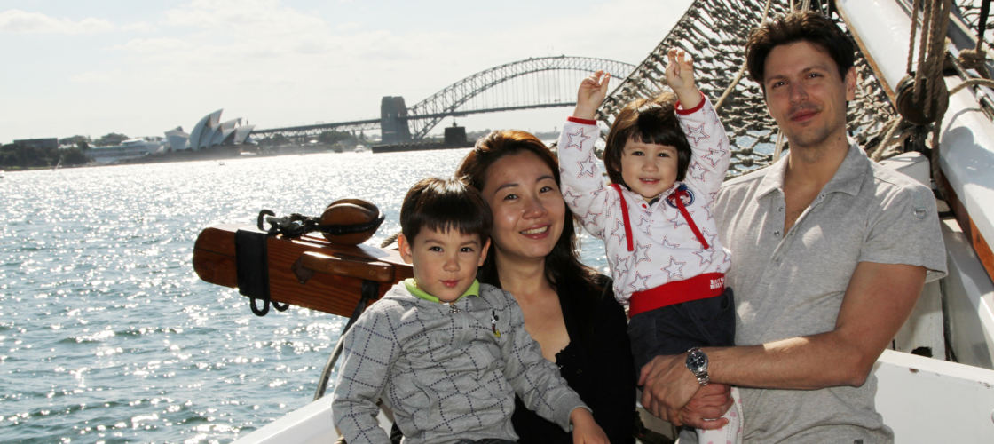 Tall Ship Wine and Canapes Evening Cruise