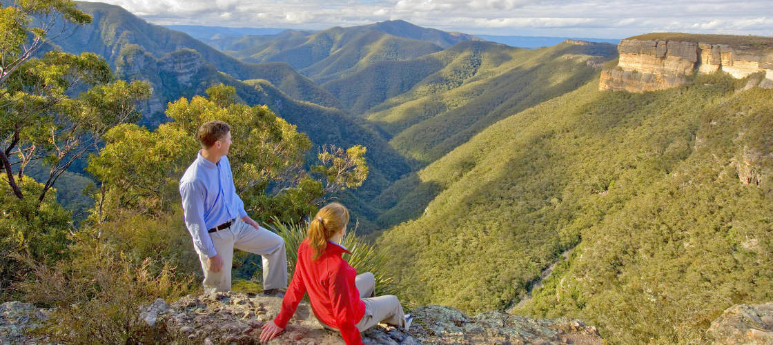 Blue Mountains Day Tour from Sydney with Harbour Cruise