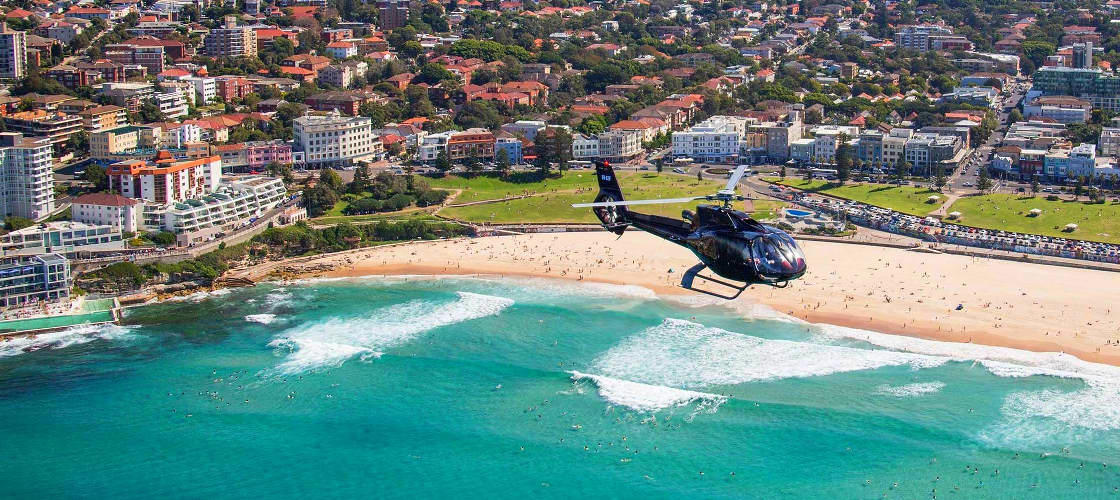 Sydney Scenic Helicopter Flight with Self Drive