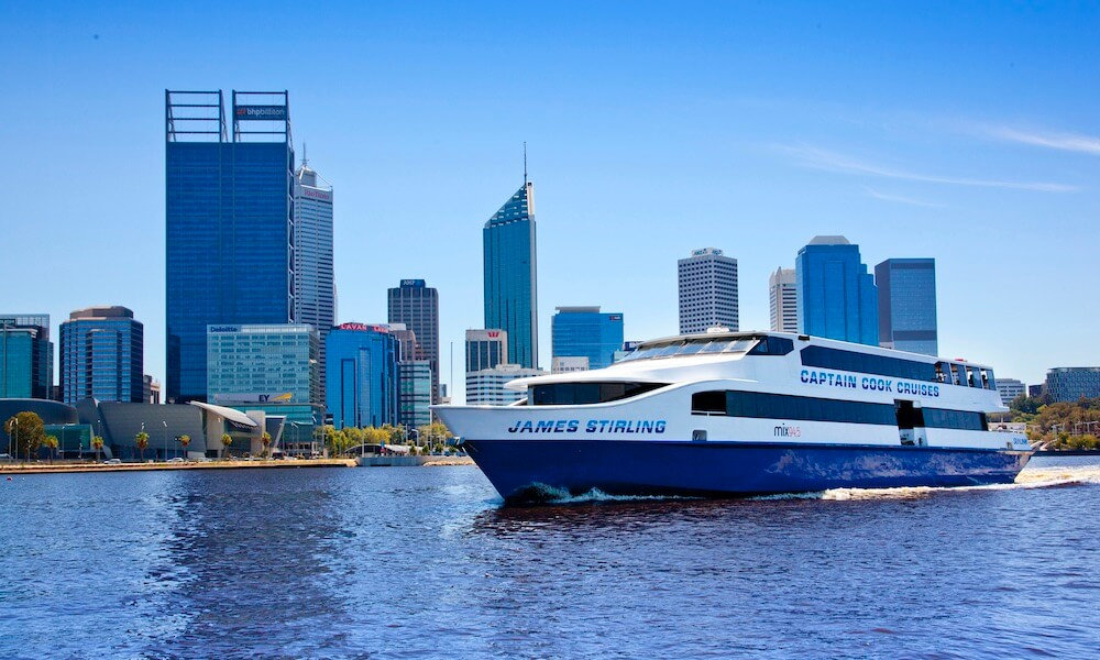 Perth and Fremantle Full Day Tour including Cruise and Wine Tasting
