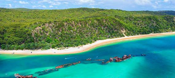 Brisbane to Tangalooma Island Resort Day Tour