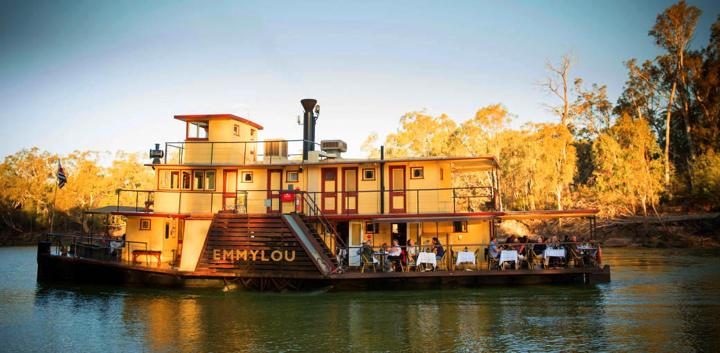 Murray River Paddlesteamers Lunch Cruise from Echuca