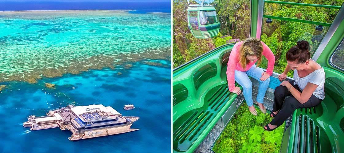 Great Barrier Reef and Kuranda Rainforest 2 Day Package