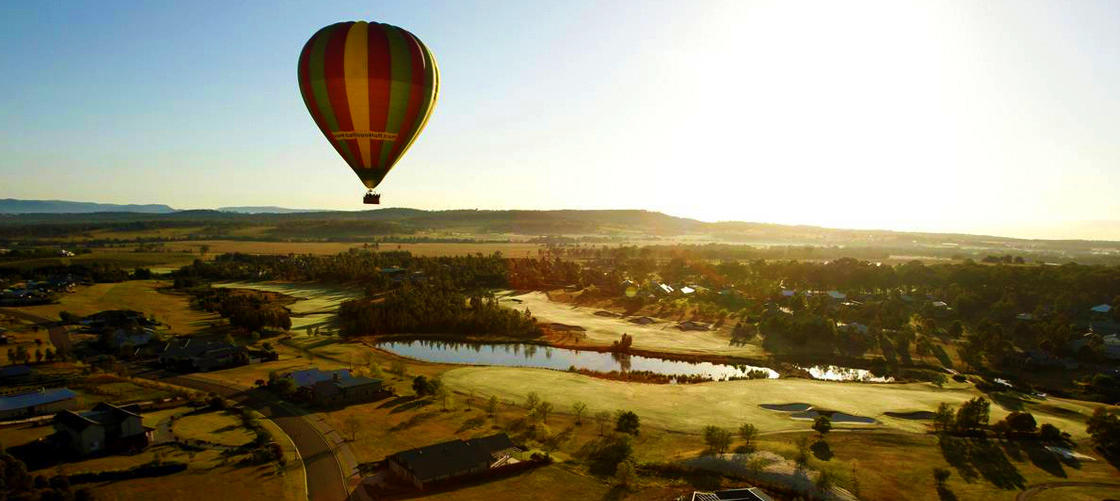 Hunter Valley 1-hour Hot Air Balloon Flight