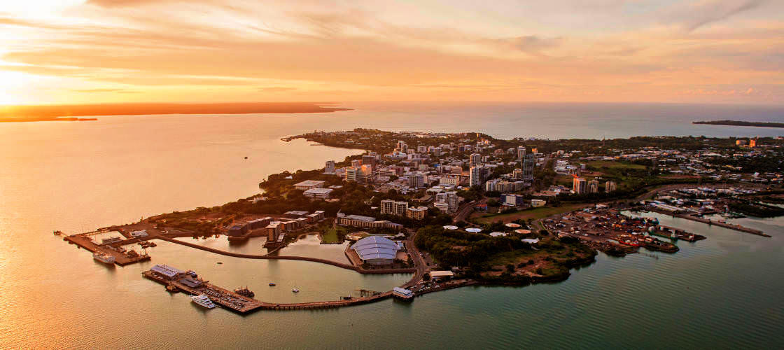 Darwin Harbour Sunset Buffet Dinner Cruise