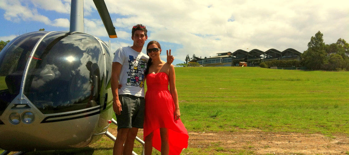 Sirromet Winery Scenic Helicopter Flight
