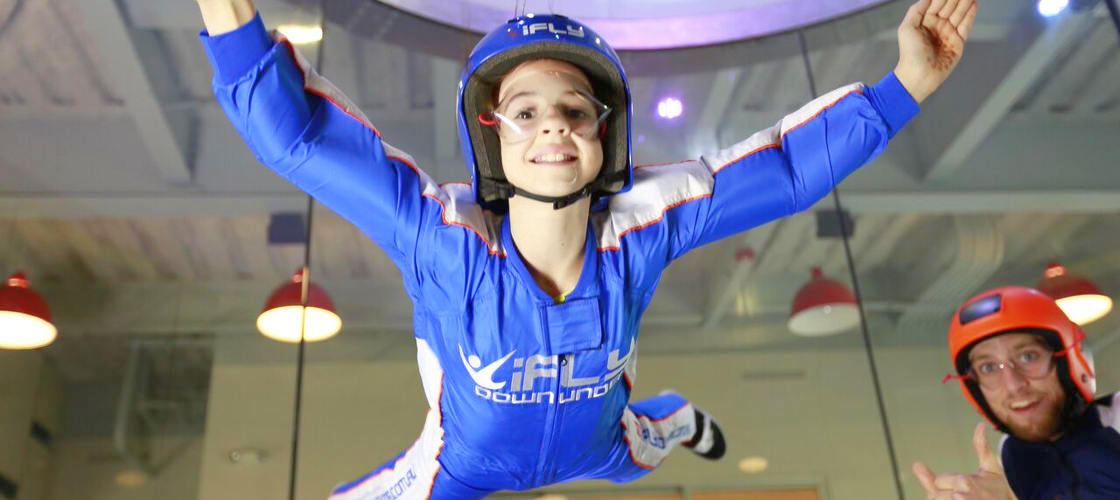 iFLY Indoor Skydiving and Jetboating Package