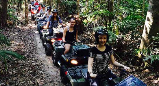 Kuranda Rainforest ATV Quad Bike Tour