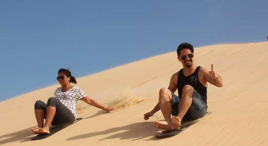 Port Stephens 4WD Beach & Dune Tour with Sandboarding