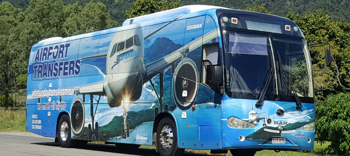 Airlie Beach or Shute Harbour to Whitsunday Coast Airport