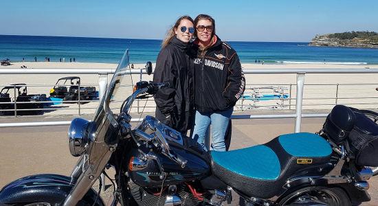 Harley Motorcycle or Chopper 4 Trike Sydney City and Bondi Tour