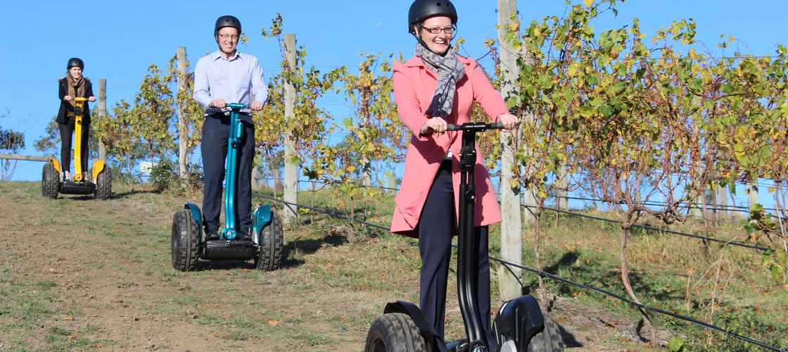 Yarra Valley Lunch and Segway Vineyard Tour