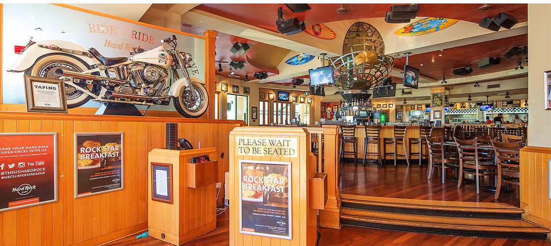 Hard Rock Cafe Surfers Paradise Dining Experience
