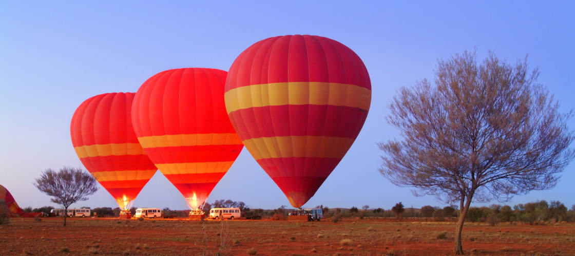 30 Minute Scenic Hot Air Balloon Flight including Sparkling Wine