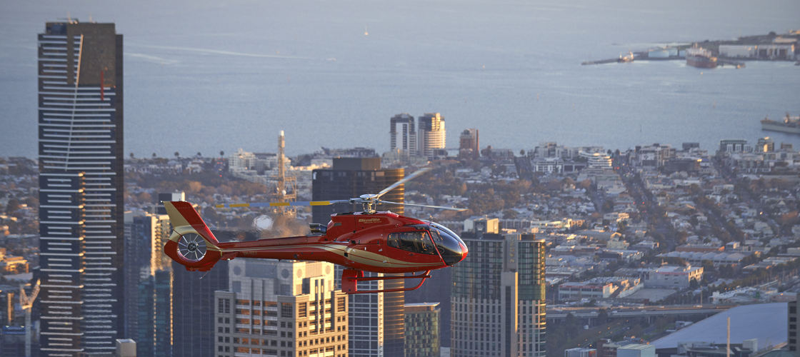 Melbourne Bayside Scenic Helicopter Flight