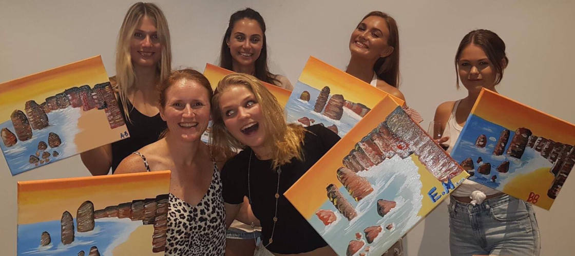 Paint and Sip Art Sessions in Brisbane