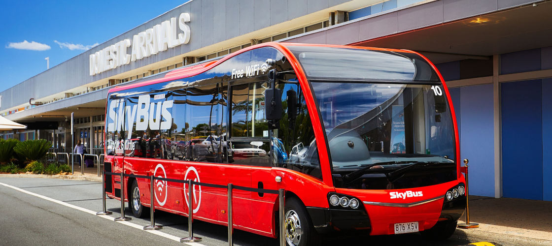 Byron Bay to Gold Coast Airport Shared Transfer