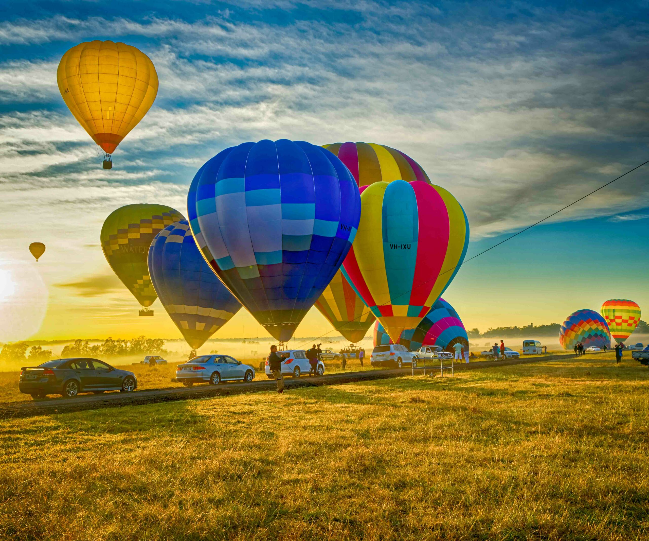 The Hunter Valley 2-day Food and Wine Tour with Hot Air Balloon