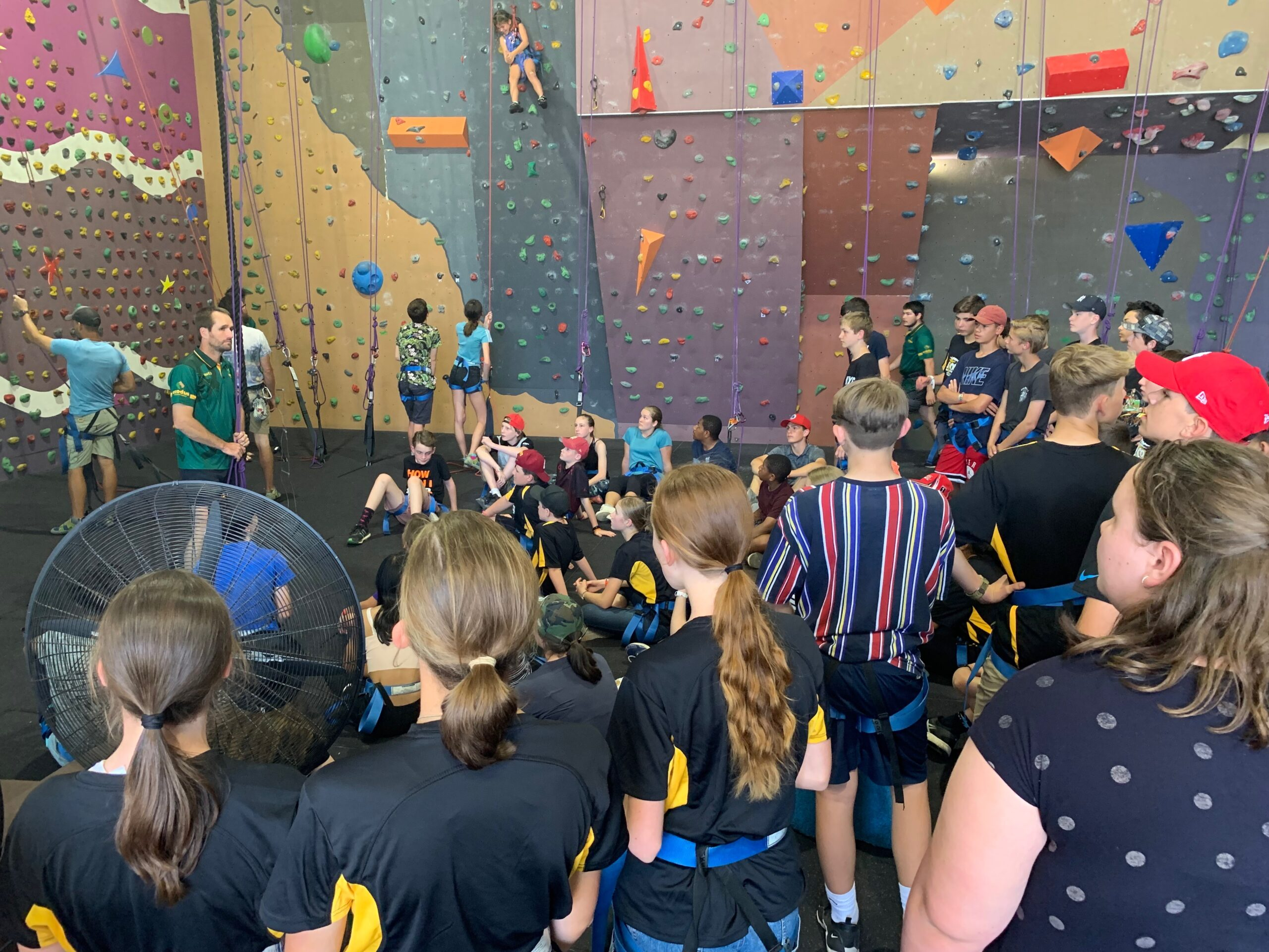 Rock Gym Group Booking (min 15)