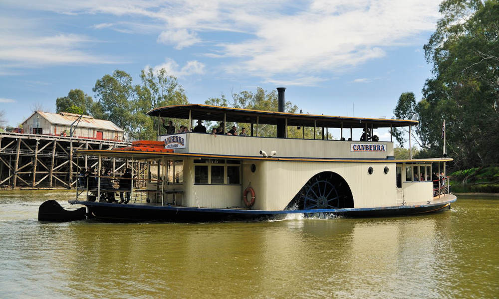 Murray River Paddlesteamers 1 Hour Sightseeing Cruise