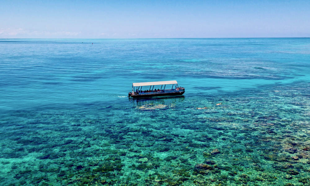 Great Barrier Reef Cruise to Upolu Cay and Outer Reef