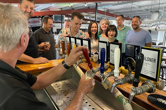 Full-Day Guided Beer Tour in Perth