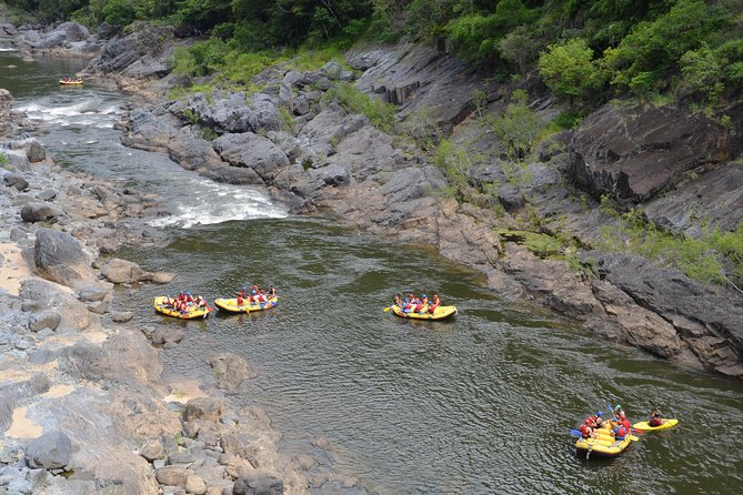 Barron River Half-Day White Water Rafting from Cairns