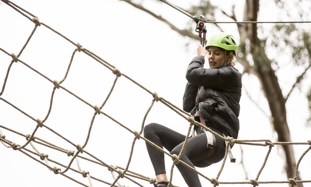 Short Circuit High Ropes Course
