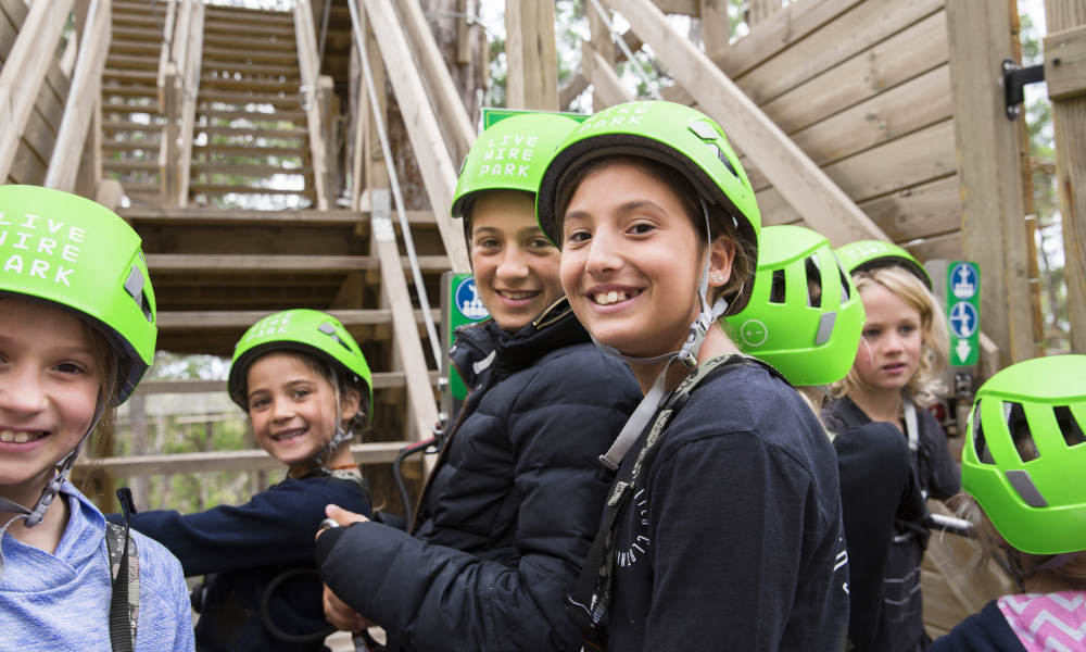 Super Circuit High Ropes Course
