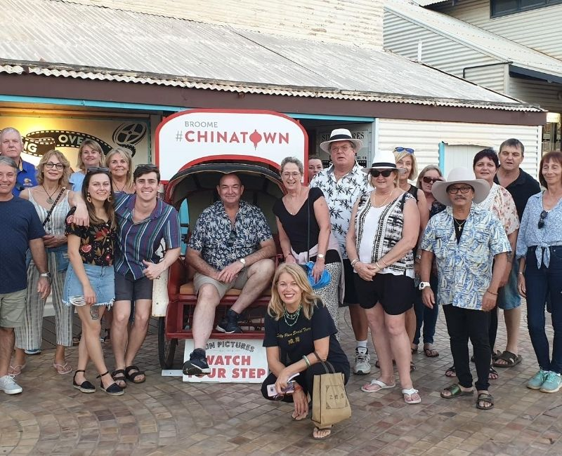 Salty Plum Social Small Bar Walking Tour of Chinatown Broome