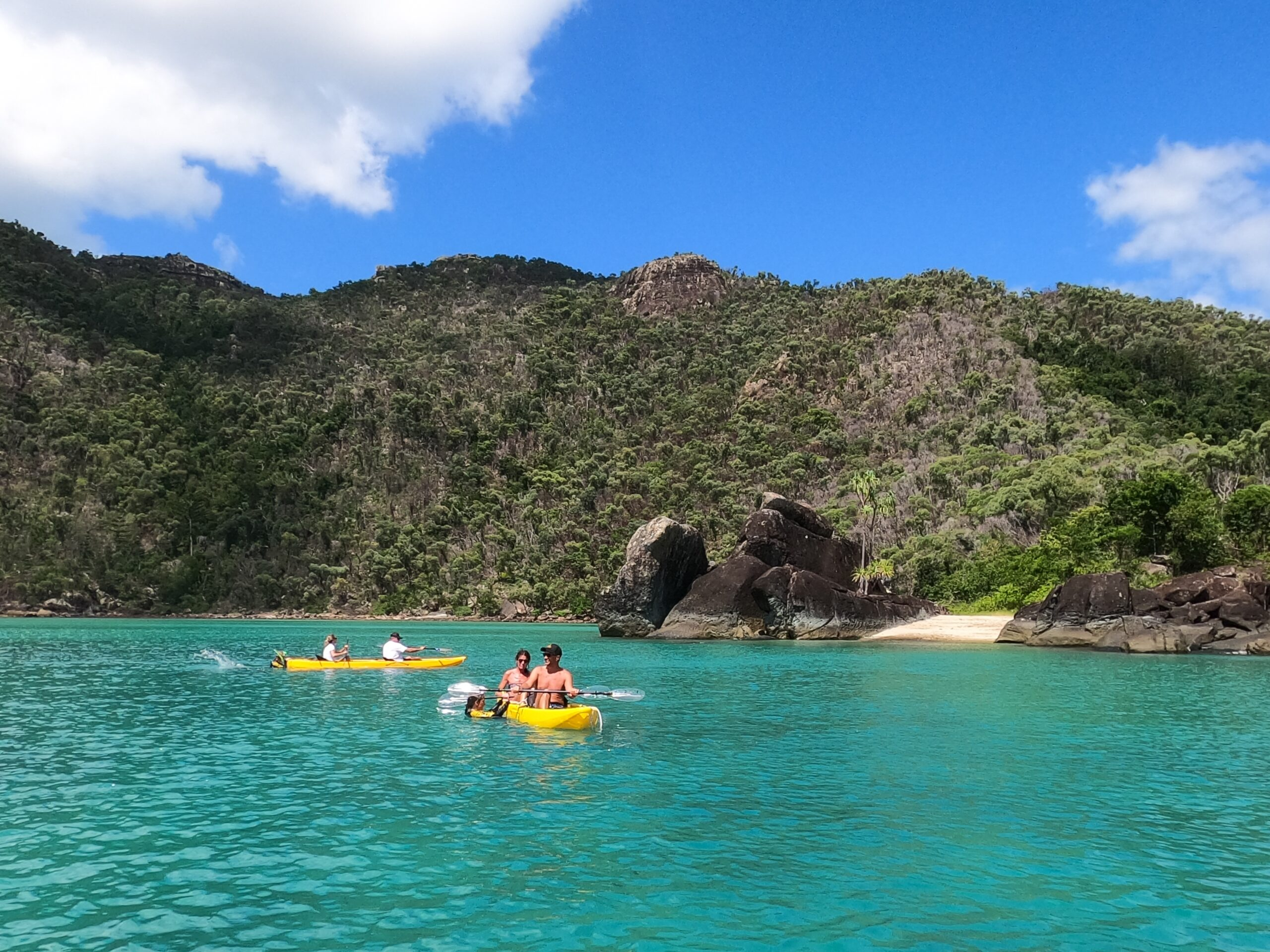 Full day private charter- Sail, Snorkel SUP and Kayak