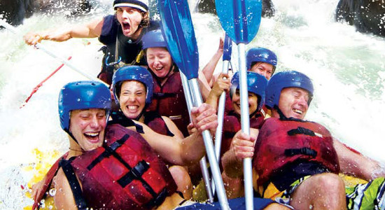 Tully River Full Day White Water Rafting Adventure with Lunch