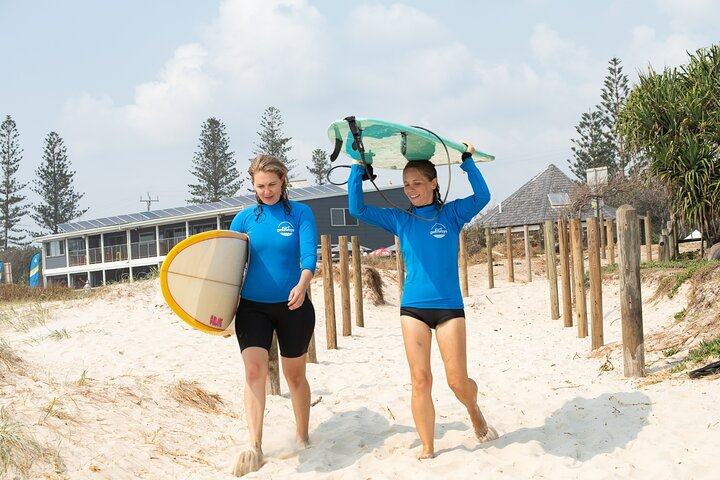 Private VIP Surfing Experience in Noosa
