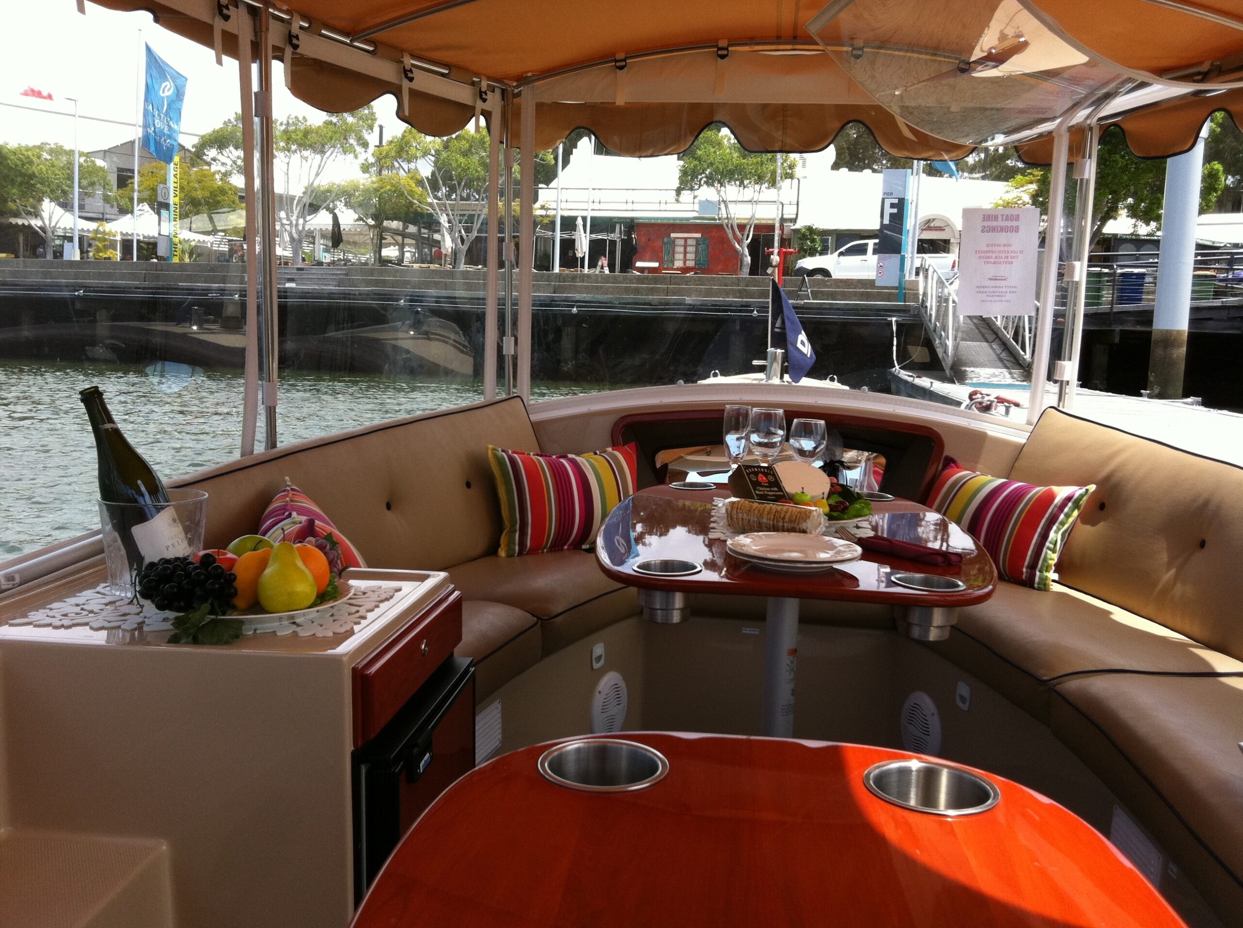 Duffy Boat -  Limo on the Water- Luxury Self Drive Cruise