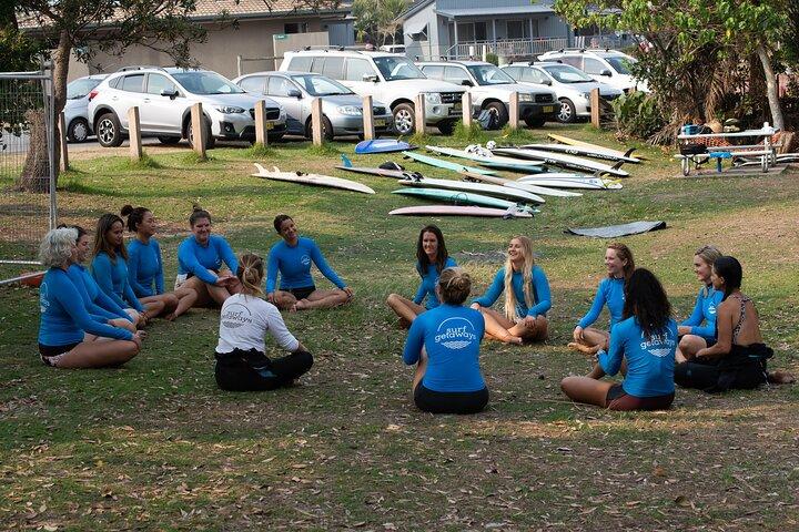 Monthly Intro / Beginner Surf Clinics for Women - Byron Bay / Lennox Head