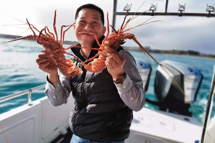 Premium live lobster tours presented Sashimi or BBQ style