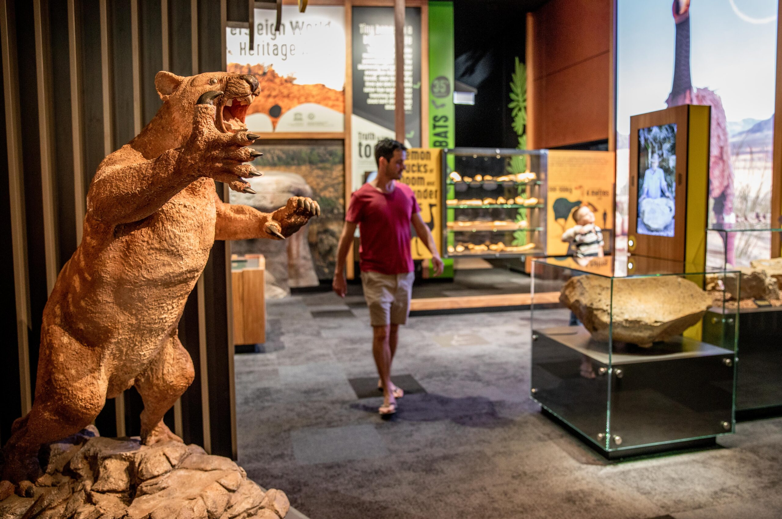 Guided Riversleigh Fossil Discovery Centre & Laboratory