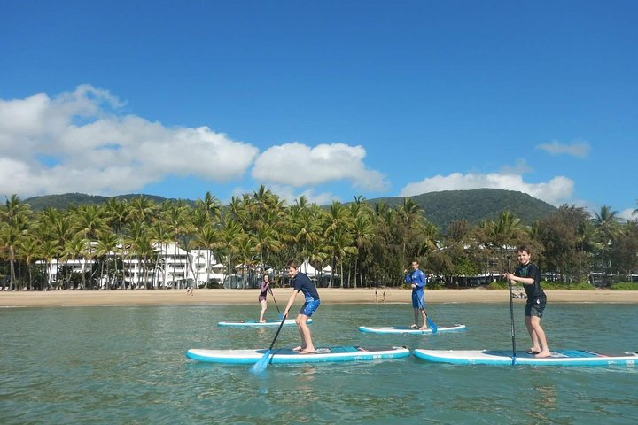 Sunrise Paddleboarding Group Lesson at Palm Cove Beach