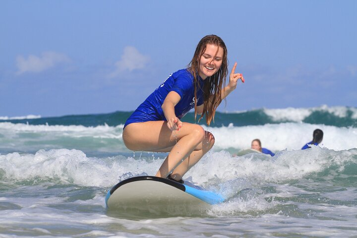 Surfing Lessons in Byron Bay