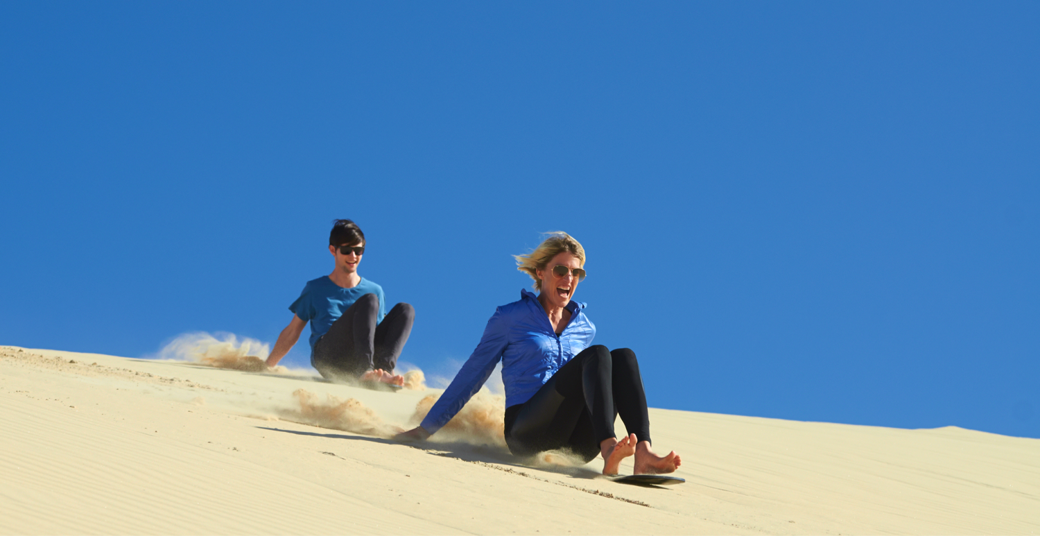 Daily Unlimited Sandboarding