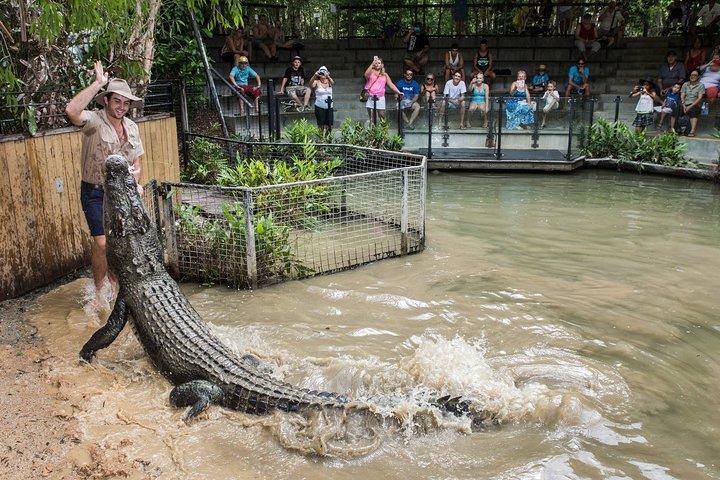 HARTLEY'S CROCODILES ADVENTURES (park entry & return transfers to Port Douglas)